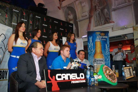 """Respecto de su postura con la empresa Televisa, """"Canelo"""" Álvarez expresó..."""