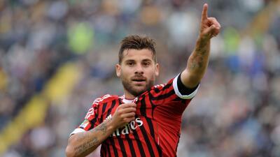 Antonio Nocerino jugando con AC Milan