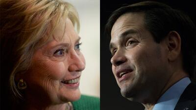 Encuesta voto latino: Rubio y Clinton lideran las preferencias  clintonr...