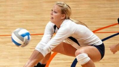 Kendra Rowland, jugadora de voleibol de UTSA.
