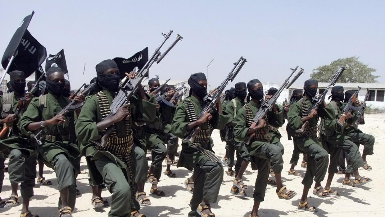 Seguidores del grupo extremista al-Shabab
