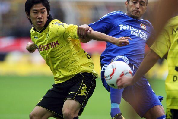 Enfrente tenían como rival al Borussia Dortmund que esperaba hacer pesar...