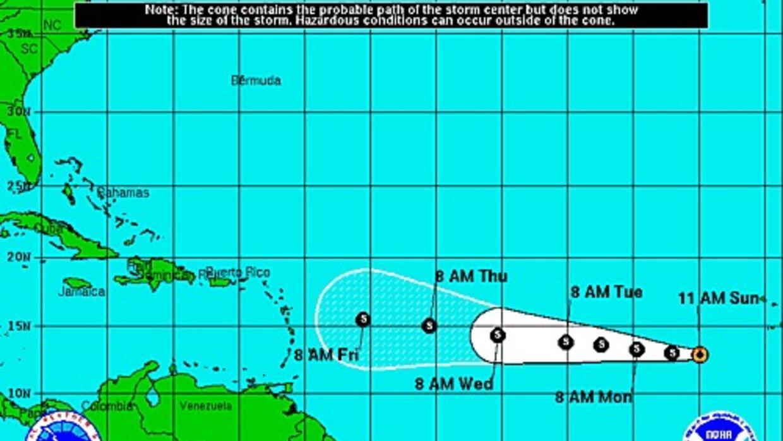 Tormenta Tropical Grace - Domingo