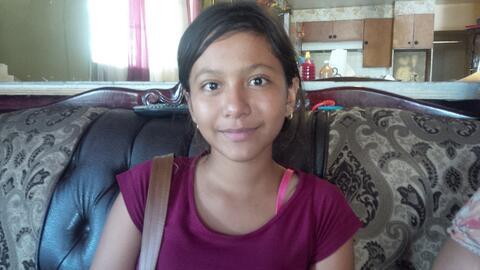 Jennifer Rivera, niña superviviente del accidente de autobús en Merced