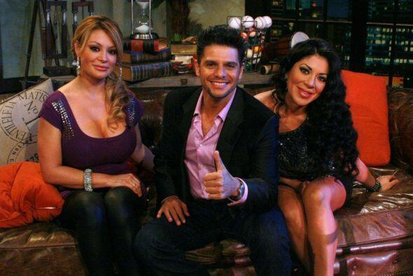 Rafael Mercadante acompañó a las chicas y las invitó a jugar.