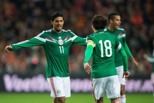 Holanda no se encontraba en el campo tras el gol de México y las cosas s...