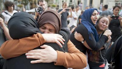 Madres y familiares de los terroristas de Barcelona denuncian los atentados de sus hijos