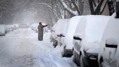 Ventana al Tiempo: Intensa nevada en Chicago durante este fin de semana