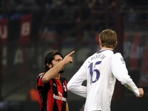 Gennaro Gattuso, histórico jugador del Milan de Italia, jug&oacut...