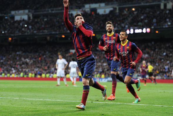 Messi, quien ya llevaba dos goles, no perdería la costumbre y con friald...