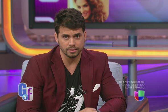 """El actor interpreta a un juez que enamora a """"Refugio""""."""