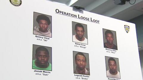 Arrestan a nueve presuntos y peligrosos miembros de una pandilla de Broo...