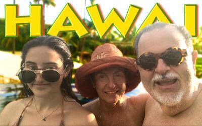 Raúl nos mostró imágenes exclusivas de sus vacaciones familiares por Hawái