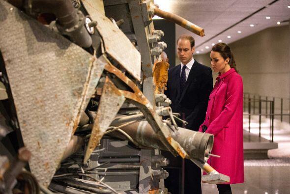 Después de eso la pareja siguió con la visita, esta vez, en el Museo sub...