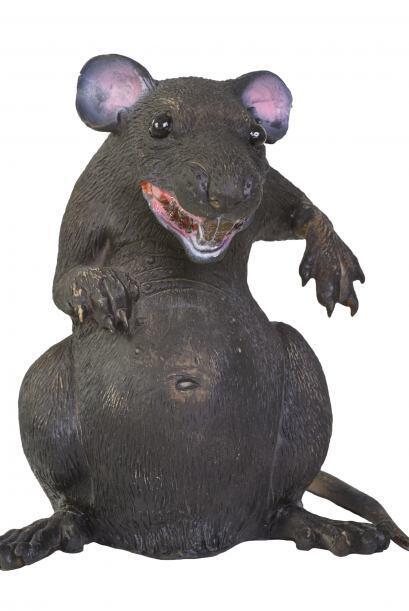 Una invasión de ratas. Los roedores de juguete, ¡resultan e...