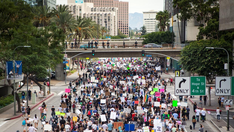 Los Ángeles está en la categoría de 'Destinos hispanos' según esta inves...