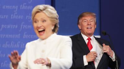 En fotos: Así fue el final del tercer debate