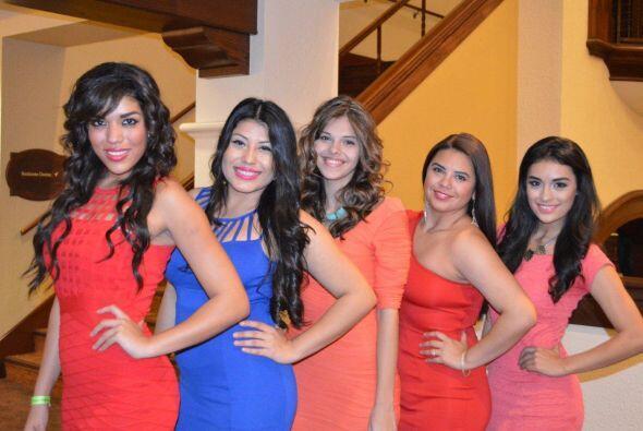 Las chicas más bellas de San Antonio se dieron cita en el Hotel Marriot...