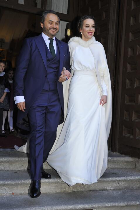 Enrique Rubio y su esposa María Escrivá de Balaguer vivir&...