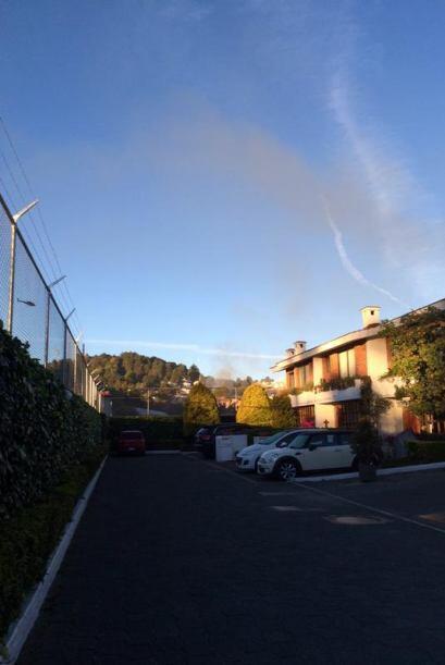 Esta mañana, un camión transportador de gas explotó en un hospital de la...