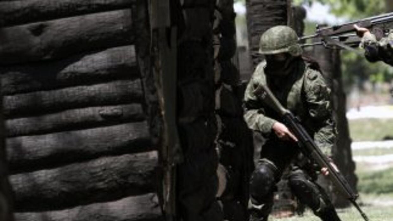 """Autoridades mexicanas realizan en Veracruz el operativo """"Veracruz Seguro""""."""