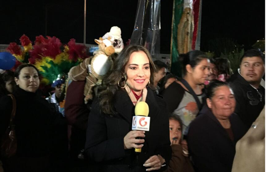 Mariana Atencio, Mañanitas a la Virgen de Guadalupe, Monterrey, 2015