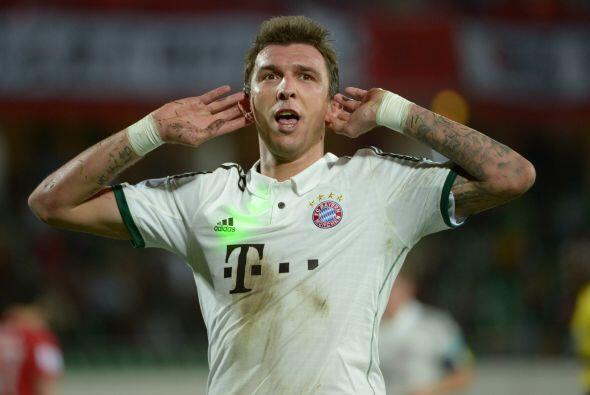 El centrodelantero del Bayern respondía con goles.