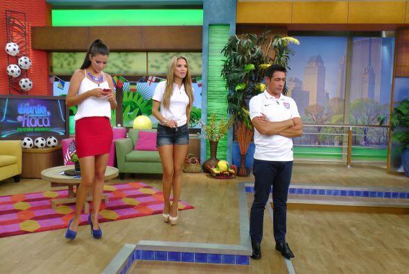 Mientras Ximena y Johnny no podían ocultar sus nervios por conocer el re...
