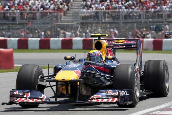 A diferencia de las primeras carreras de 2010, los autos de Red-Bull se...