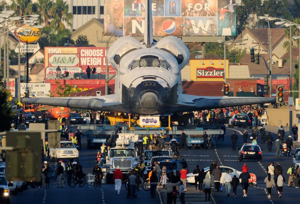 El Endeavour fue un reto más grande por el tamaño de sus a...
