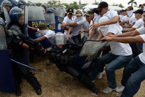 Caso muy diferente al de Filipinas, donde se han desatado las protestas...
