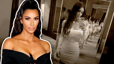 Kim Kardashian le dice adiós a las selfies porque un doctor se las prohíbe