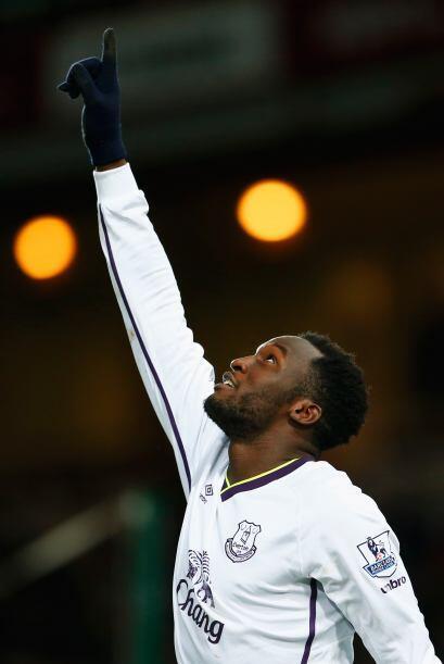 Lukaku ha sido el referente en ataque del Everton que encontró a su homb...