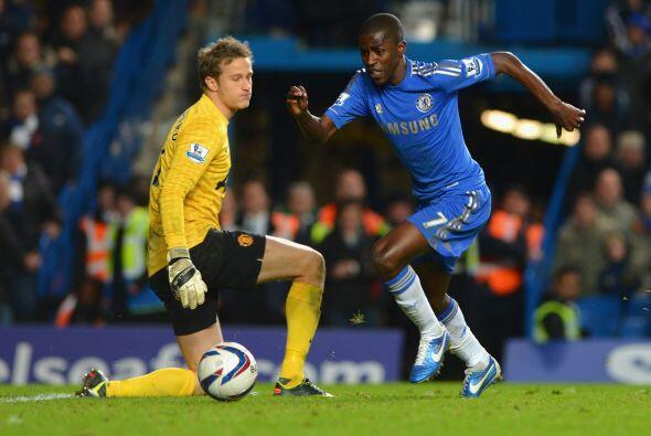 Y el Chelsea seguía imponiendo su superioridad en los momentos im...
