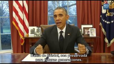 Obama firma memorándum que protege la bahía de Bristol de todo tipo de e...