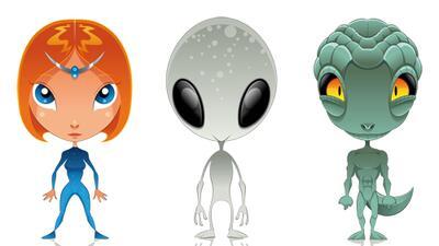 Reptilianos, grises y pleyadianos: conoce a las razas extraterrestres