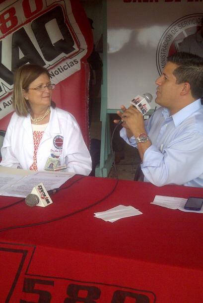 La directora de ACEM, Ana Ruiz, habló con Normando Valentín sobre los pl...