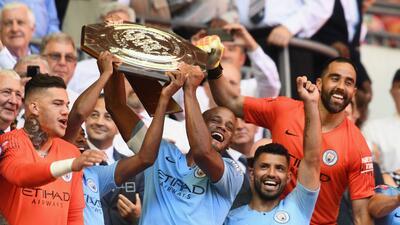 En fotos: Manchester City empezó la temporada pisando fuerte en la Community Shield