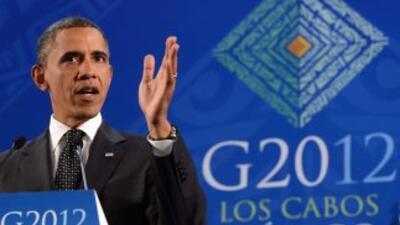 """Obama aseguró que los líderes europeos """"entienden la gravedad"""" de su cri..."""