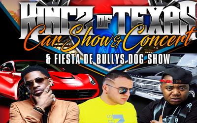 Kingz of Texas Car Show & Concert at Rosedale Park - June 11, 2017