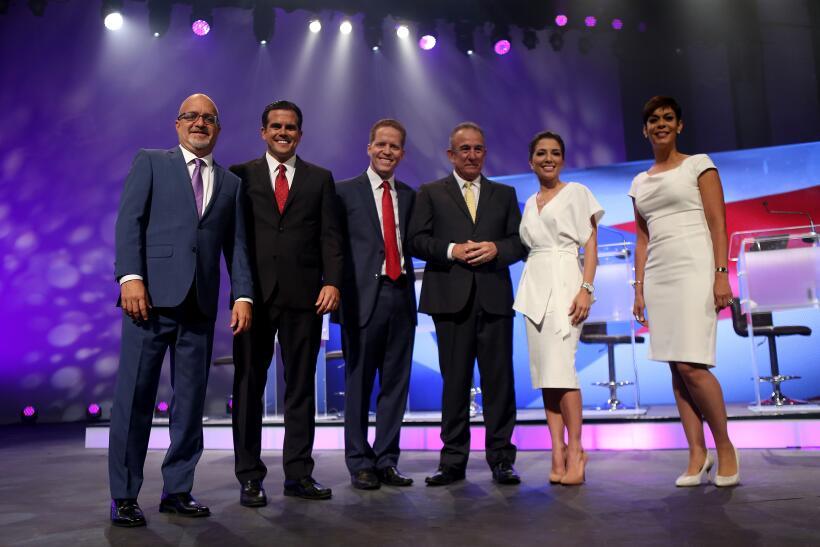 Debate Decisivo entre los seis candidatos a la Gobernación