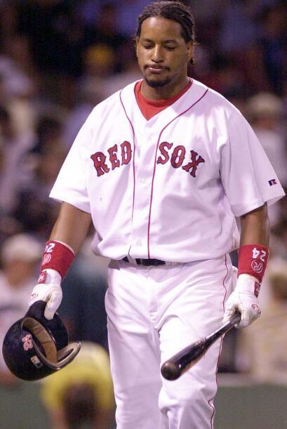 En el verano de 2003, Ramírez se perdió varios juegos por...