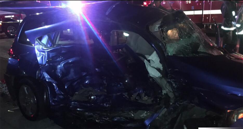 Accidente en Oakland