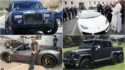 famosos y sus carros en 2017