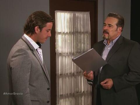El contrato que Dionisio le muestra a Yago asegura el bienestar de Natal...