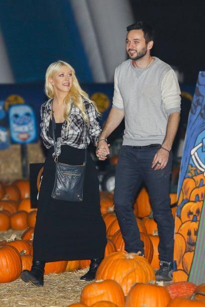 Halloween se acerca y Christina Aguilera no podía quedarse sin ll...