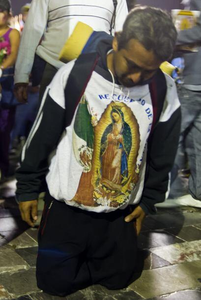 El joven opinó que la devoción y el fervor por La Guadalupana no han cam...