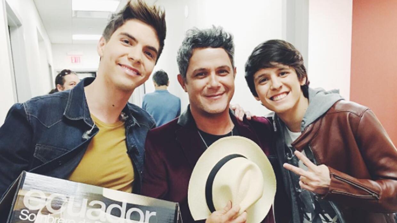 Christopher y Johann están orgullosos de representar a Ecuador alejandro...