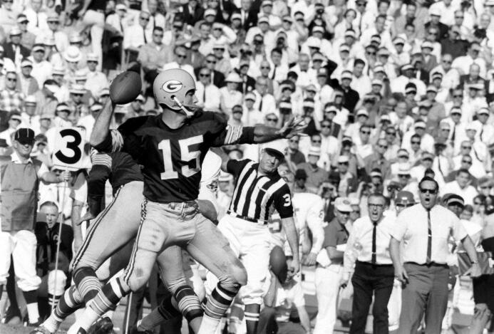 Los Green Bay Packers se enfrentaron contra Kansas City en 1967.