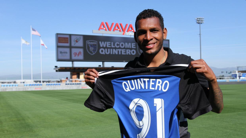 Alberto Quintero firma con San Jose Earthquakes